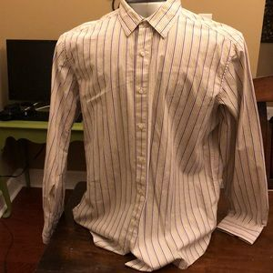 Claiborne striped size XL long sleeve button down